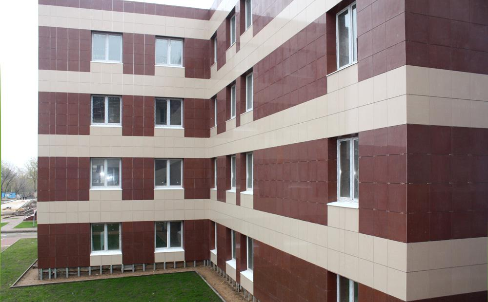 Плитка для вентилируемых фасадов